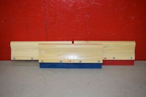 14 Squeegee Screen Printing Bolt On Blade Lot Of 3