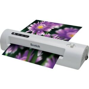 3m Scotch Thermal Laminator Combo Pack W 20 Laminating Pouches