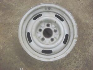 Corvette 15x6 Rally Wheel Rim Dc 1967 Hot Rod Custom Ralley Gm