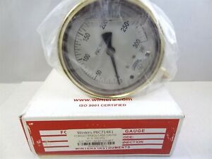 Winters Pbc Series Forged Brass Single Scale Pressure Gauge Pbc714r1