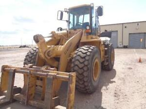 Cat Caterpillar 950 F Series 2 Front End Wheel Pay Loader Forks Quick Attach