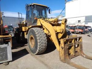 2002 Model Cat Caterpillar 950 G Series 2 Front End Wheel Pay Fork Lift Loader