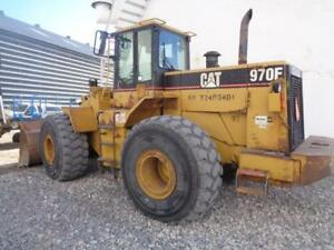 1995 Model Cat Caterpillar 970 F 2 Front End Wheel Pay Fork Lift Loader Material