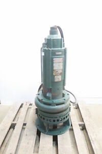 Nagle Smla Submersible Pump 3in 400gpm 15hp 460v ac