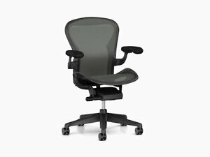 Herman Miller Aeron Chair Remastered Brand New Basic Model Full Warranty C Size