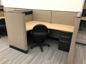 Used Office Cubicles Haworth Premise Cubicles 6x4