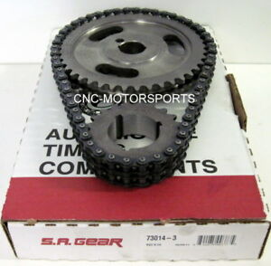 Sa Gear 73014 3 200 Double Roller Timing Chain Set Sb Ford 302 351w 3 Keyway