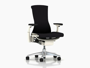 Embody Chair by Herman Miller Black Balance Brand New