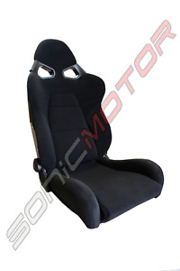 Snc Cg Reclinable Bucket Racing Seat Black large