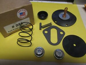 1953 1954 1955 1956 1957 Chevy I6 217 235 236 Ac 4149 Unleaded Fuel Pump Kit New