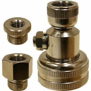 Haltec N 1091 Air And Water Tire Valve Inflation Fluid Adapter Farm Tractor Otr