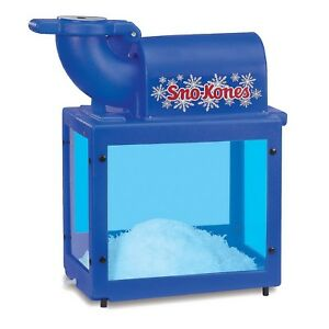 New Sno King Snow Cone Machine Commercial Sno Cone Maker