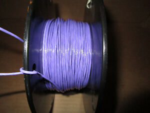 Mil Spec Spc Wire Teflon Taped Purple 250ft Silver Plated
