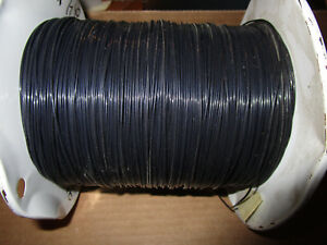 Thermax Hms2 1563 24 bue 0 24 Awg Spc Wire 19 36 Str Black 2500ft