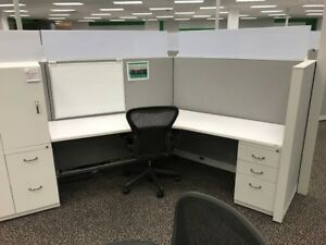 Used Office Cubicles Steelcase Answer Cubicles 5x5
