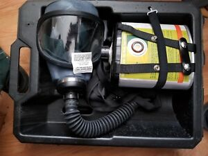 Msa Gas Mask Type Gmeo ssw With Window cator Canister