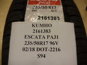 1 New Continental Escata Pa31 Tire 235 50 17 96v 2161383 Q8