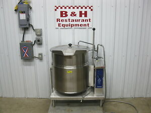 Cleveland 20 Gallon Steam Jacket Stainless Steel Tilt Soup Kettle Ket 20t 480 V