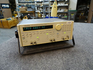 Wavetek Model 90 Synthesized Function Generator 20 Mhz Tested Good