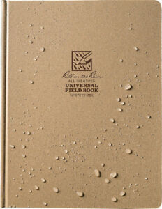 Rite In The Rain Field Bound Book Tan 80 Sheets 8 75 X 11 75