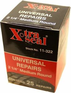 Xtra Seal 11 322 2 1 4 Medium Round Style Universal Patch Radial Tire Repair