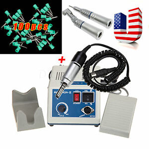 Dental Lab Marathon Polisher 35k Rpm Electric Motor Handpiece prophy Cups Aoaw
