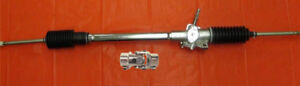 Chrome Ford Pinto Steering Rack And Pinion Manual 9 16 26 X 3 4 Dd U Joint