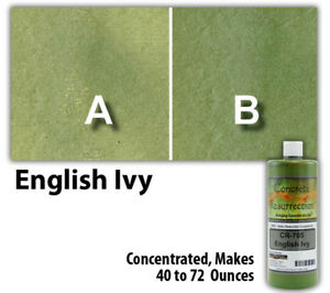 Professional Easy To Apply Water Based Concrete Stain English Ivy 8oz Bottle