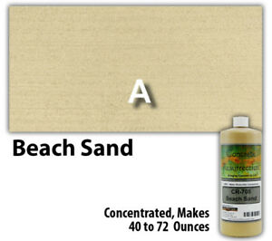 Professional Easy To Apply Water Based Concrete Stain Beach Sand 8oz Bottle