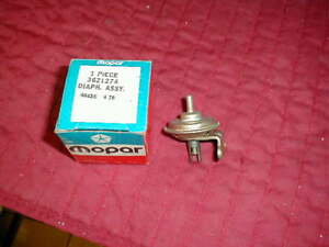 Nos Mopar 1970 1 Choke Pull Off 340 440 6 Pack Center