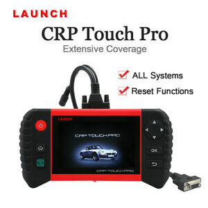 Launch Crp Touch Pro Obdii Scanner Diagnostic Scan Tool Android Wifi Abs Srs Epb