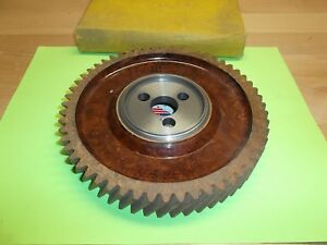 1948 1949 1950 1951 1952 Hudson 8 Cyl Camshaft Silent Timing Gear Nos Usa Made