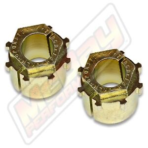Extreme Camber Caster Alignment Bushing Set Kit Pair 1980 1996 Ford F150 Bronco