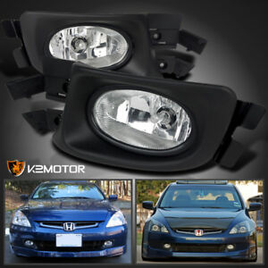 For Honda 2003 2005 Accord 4dr Sedan Clear Driving Fog Lights Switch