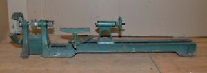 Power Kraft Wood Lathe Turning Tool Fd2002a Bench Top Woodworking Vintage 39