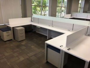 Used Office Cubicles Allsteel Terrace Cubicles 6x6