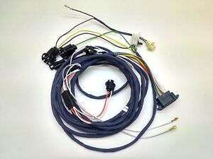1969 Nova Chevy Ii Rear Body Tail Light Wiring Harness Under Dash Courtesy Light