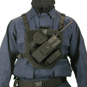 Blackhawk 37prh1bk Black Patrol Gear Harness holder For Knife Gps Radio