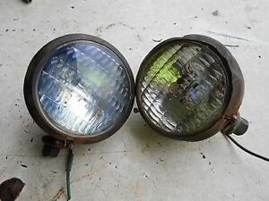 Oliver 770 Diesel Tractor Head Lights
