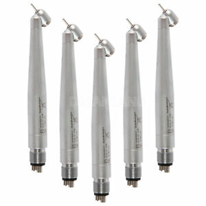 5 Fit Nsk Pana Max 45 Degree Air Turbine High Speed Handpiece 4 hole Push Button