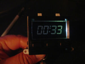 Porsche 944 Clock Lcd Replacement With New Connectors White Led Included