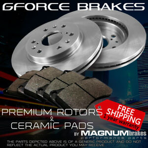 Front Premium Rotors Ceramic Pads For 2003 2006 Ford Expedition all Model