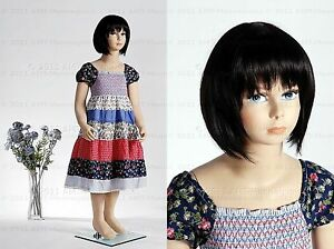 Child Mannequin Girl 4 5 Years Old Hand Made Fiberglass Fullbody Manikin molly
