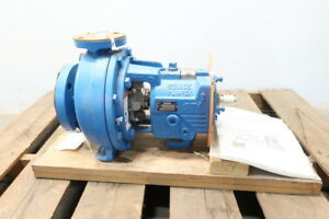 New Goulds 3196sti I frame Stainless Centrifugal Pump 140gpm 1 1 2x3 8