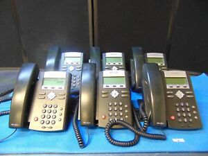 Lot Of 6 Polycom Ip 335 Soundpoint 2001 12375 001 Phones Free Shipping Rh235