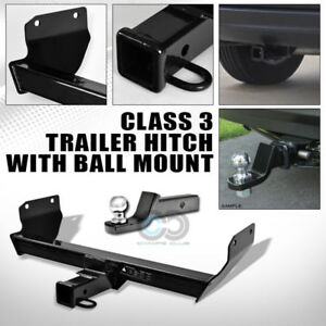 Class 3 Trailer Hitch 2 Loaded Ball Bumper Tow Towing 11 17 Jeep Grand Cherokee