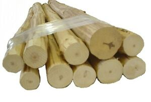 48 Small Furniture Logs 10 Hand Peeled Pine Kiln Dried Use Your Tenon Cutter