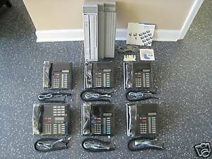 Nortel Norstar Cics Office Phone System Meridian M7310 With Ci Card Caller Id