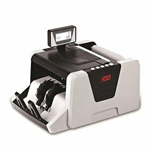 Pyle Money Counter Bill Counting Machine With Counterfeit Detection prmc550