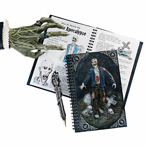 Halloween Walking Dead Zombie Unruled Spiral Journal Notebook Diary New